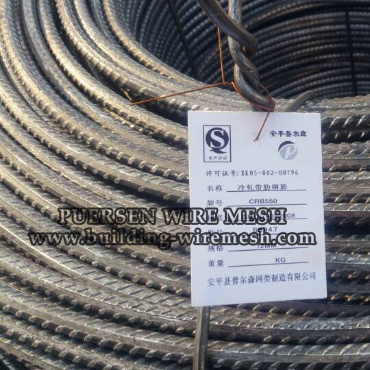 3 Side Ribbed Wire Deformed Bars