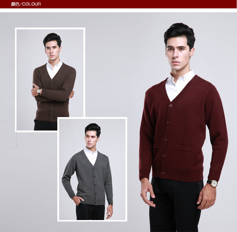 Bn1528-Yak Wool Sweaters/ Yak Cashmere Sweaters/ Knitted Wool Sweaters