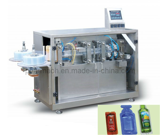 Dgs-118 Plastic Ampoule Forming Filling and Sealing Packing Machine
