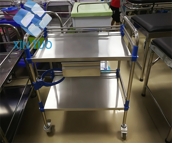 Factory Direct Price Trolley Hospital Crash Medical Instrument Trolley