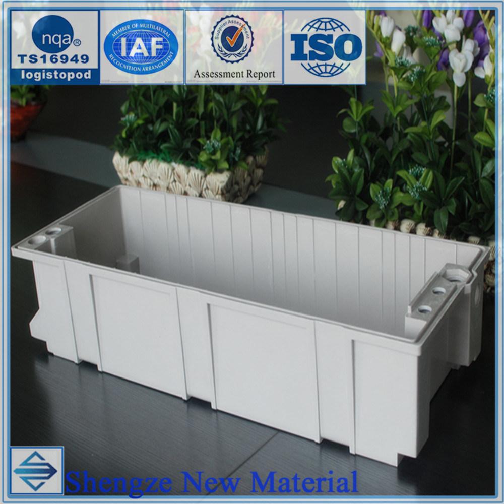 FRP Automobile Battery Pack, SMC Car Battery Box, Customize Automobile Parts