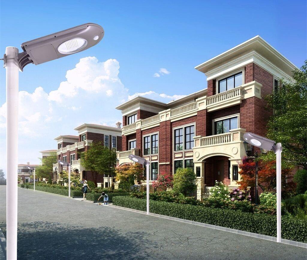 Output Automatically Remote Control by APP Solar Garden Light