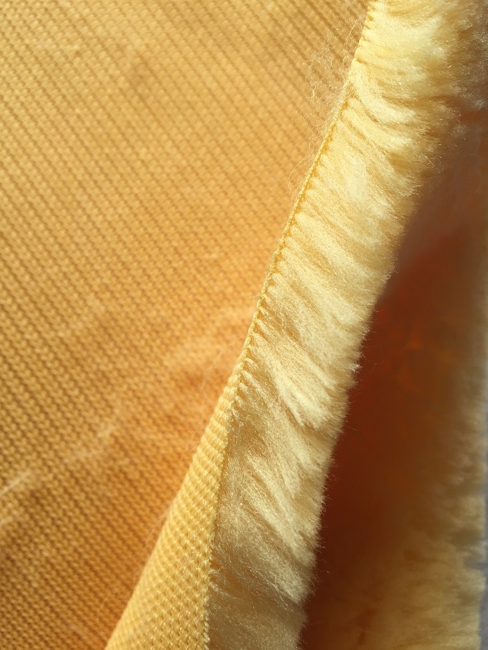 Yellow Polyester Paint Roller Fabric
