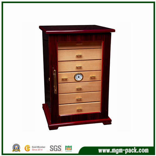 High-End Customized Wooden Humidors Cigar Cabinet
