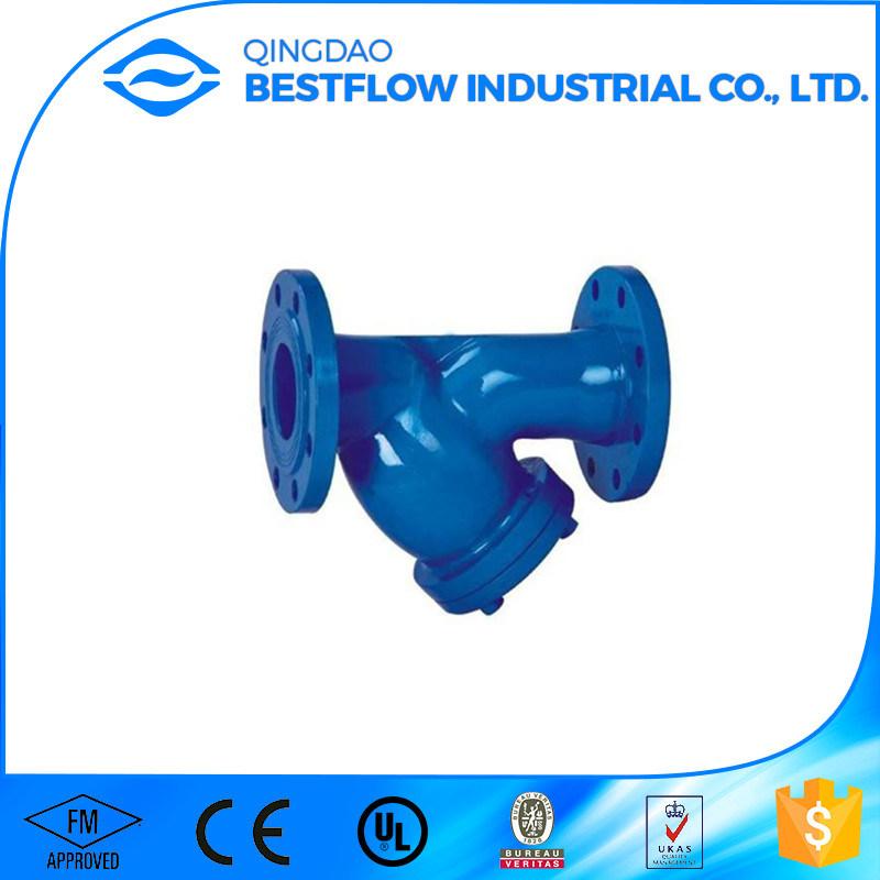 DIN Standard Cast Iron Y Type Pn16 Strainer
