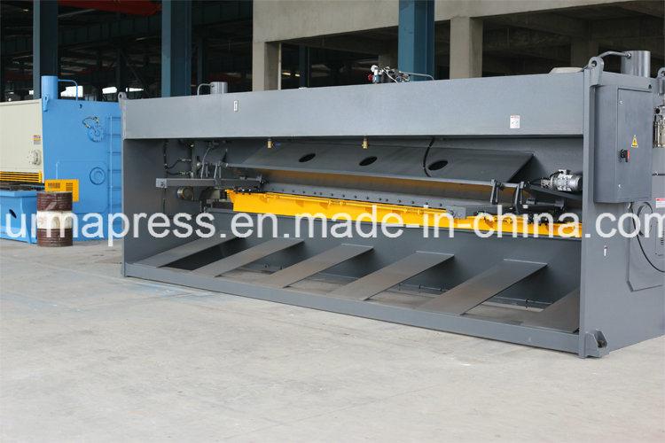 QC11y Big Size Shearing Machining 6m Guillotine Type Shearing Machine for Metal Cutting