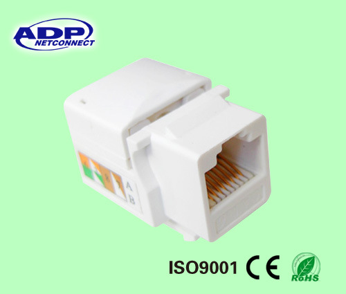 Best Price for Cat5e CAT6 Keystone Jack Made in China