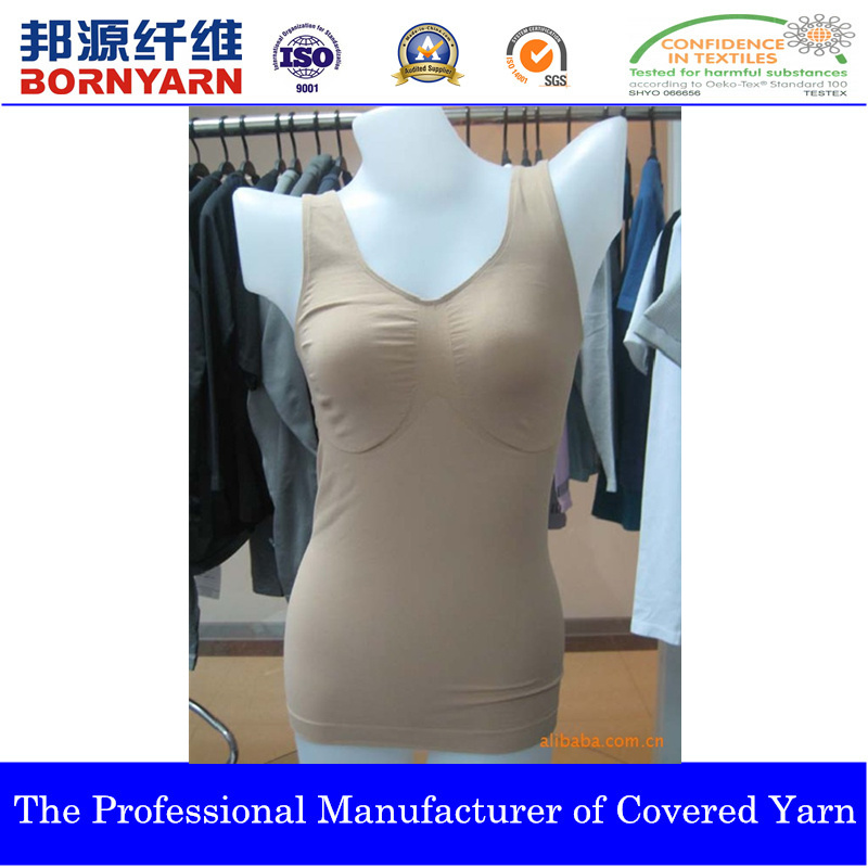 Covered Yarn with Spandex and Nylon for Seamless Product