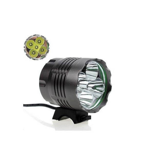 5PCS LED CREE U2 1500lm/800m Rechargeable LED Flashlight