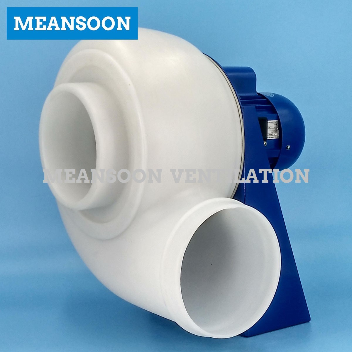 Plastic PP Anti Corrosive Centrifugal Blower for Fume Hood