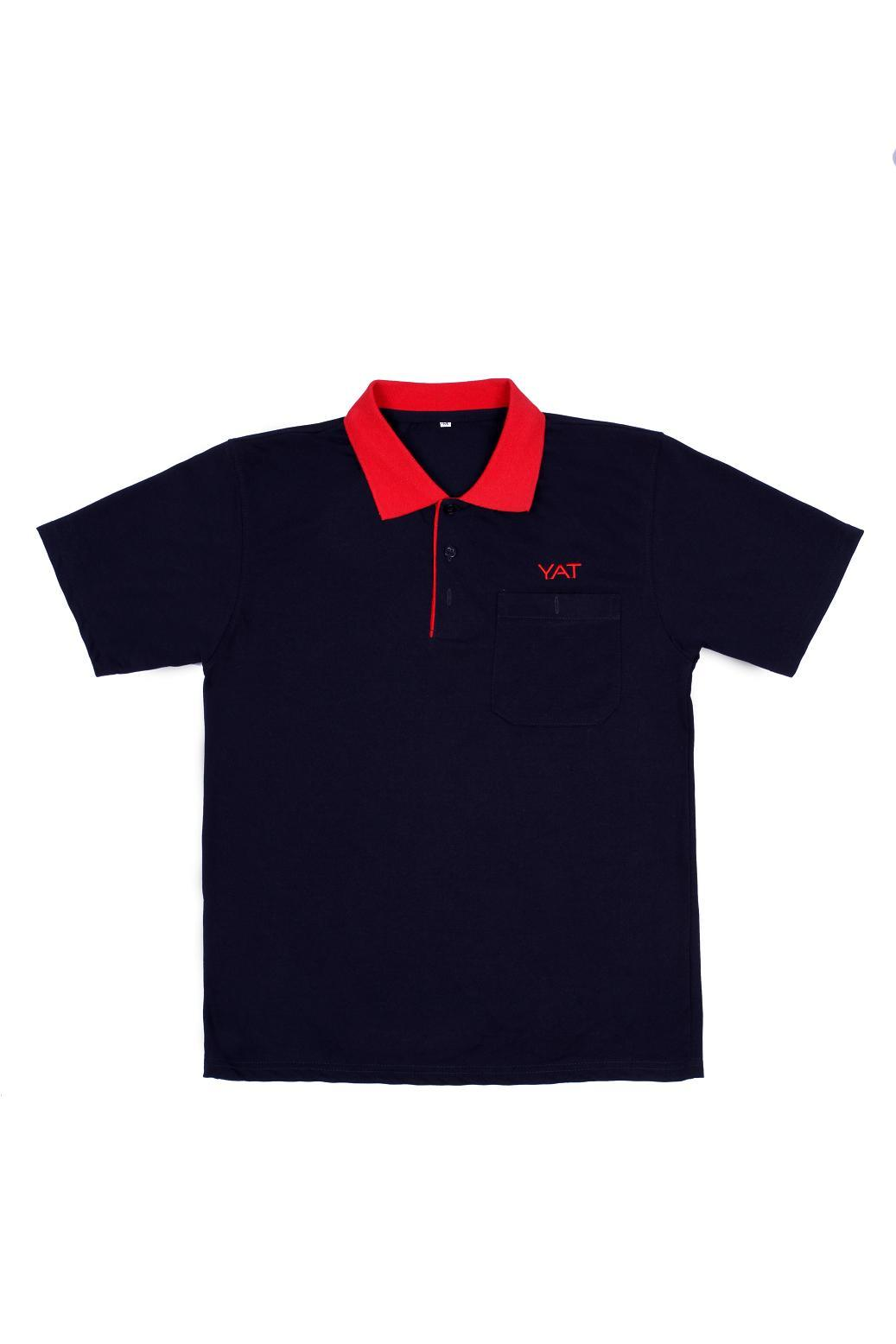 China polyester polo shirt custom polo shirt design with for Personalised logo polo shirts