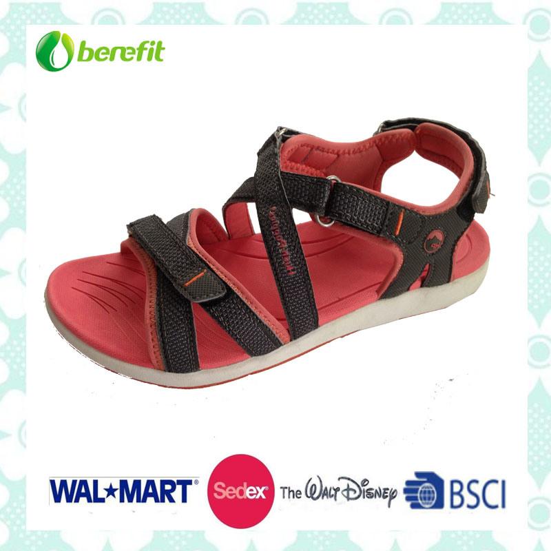 EVA and TPR Sole, PU Upper, Children′s Sandals