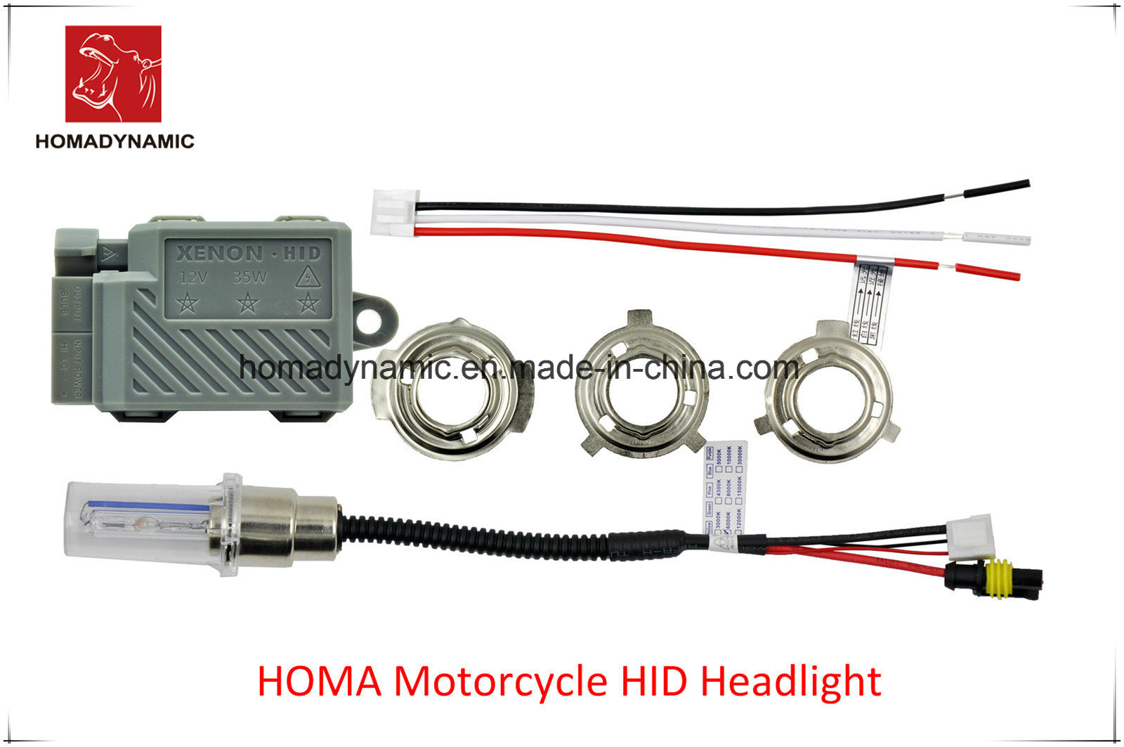 Wireless HID Xenon Kit for Motorcycle
