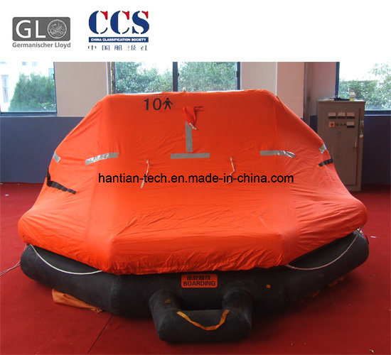 10 Man GRP Container Pack a Inflatable Rubber Life Buoy Craft (A10)