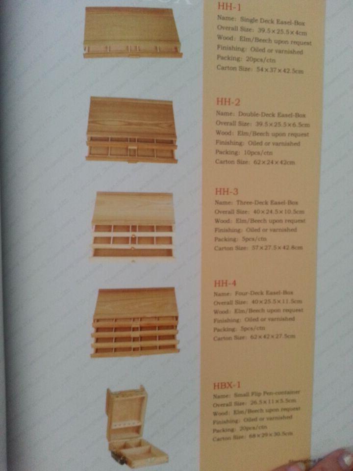 Wooden Box/Table Easel/Easel/Box Easel/Wooden Easel