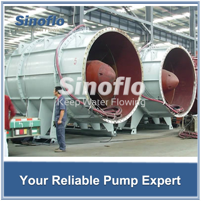 Axial Flow Tubular Impeller Pond Submersible Sump Water Booster Pumps