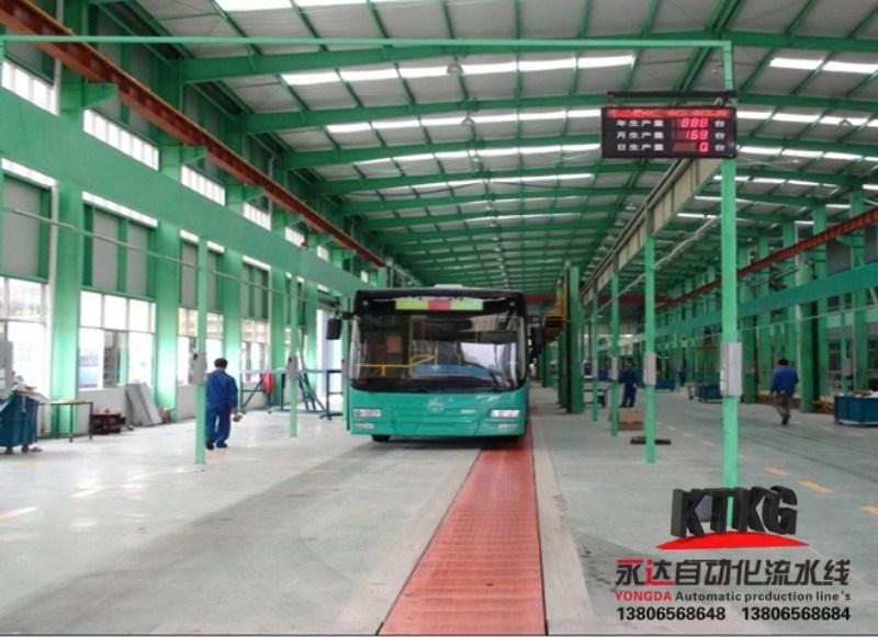 Excavator Vehicle Conveyor Line From Jdsk