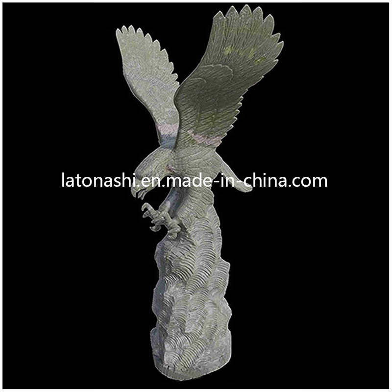 Marble Stone Carving Art Animal Statue for Outdoor, Yard, Garden