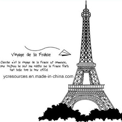 Decoration Wall Stickers, Eiffel Tower (HA52003)