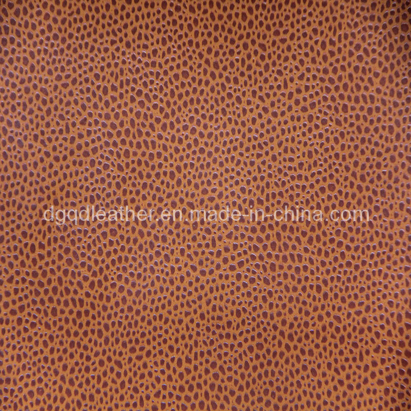 Strong Scratch Resistance Furniture PU Leather (QDL-FP0020)