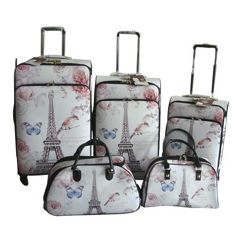 PU Trolley Case Trolley Bag Suitcase Luggage Jb-D001