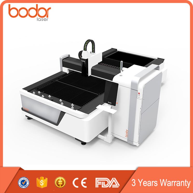 High Speed CNC 500W 700W 1000W Fiber Laser Cutting Machine for Metal Sheet