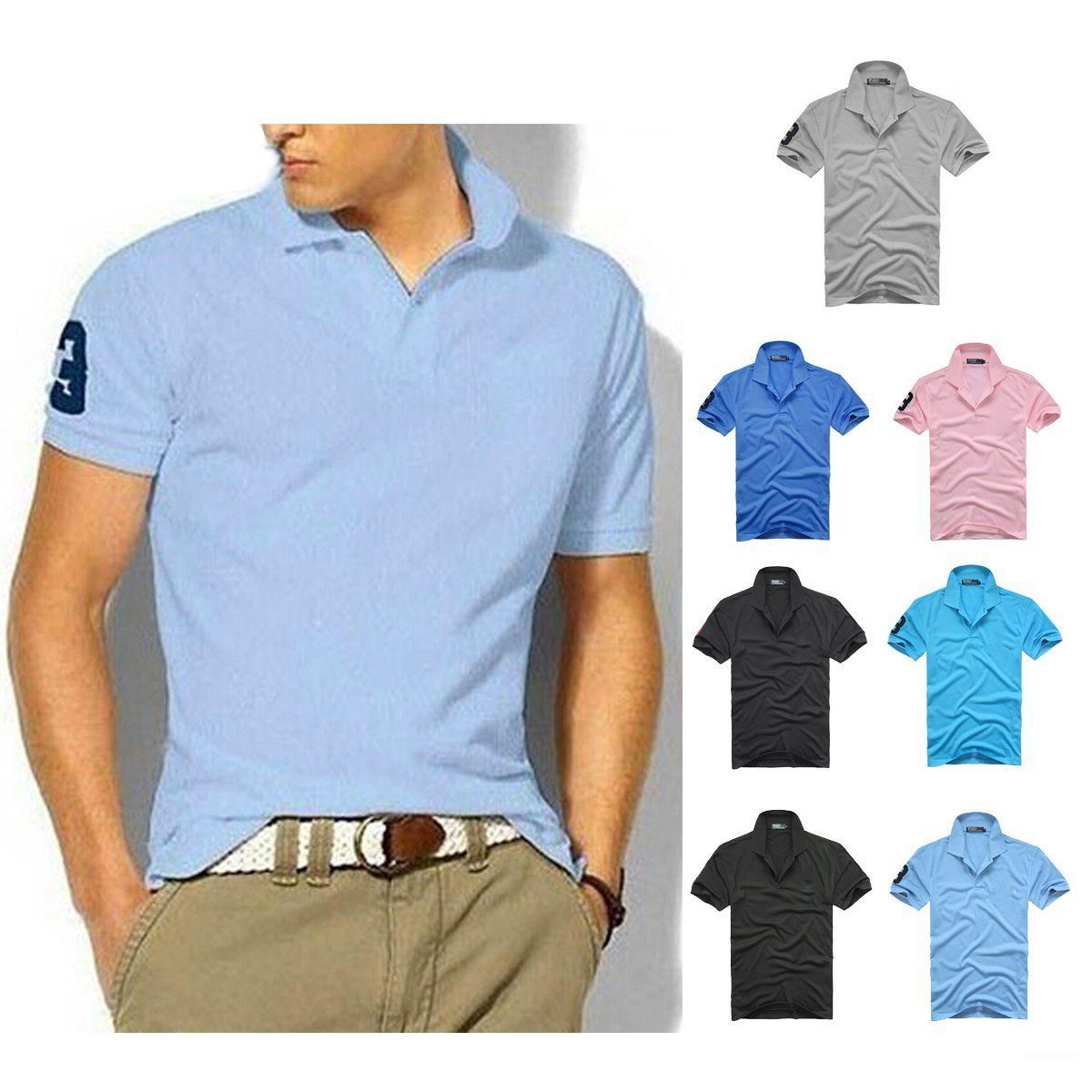 Wholesale Custom Unique Polo Shirts China with Style Clothing