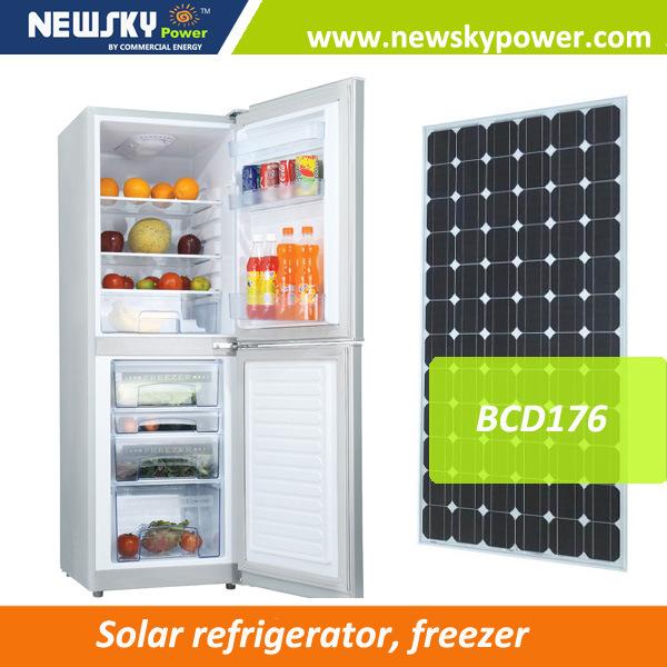 New Design DC12V 24V China Manufacturer Solar Power Fridge