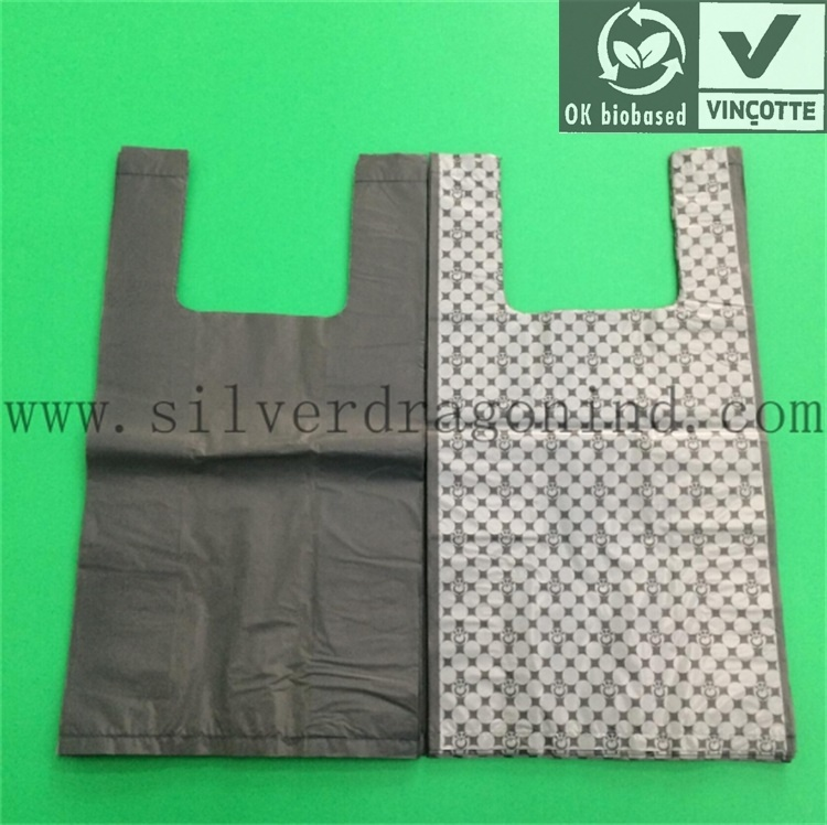 Bio-Based Biodegradable Bag, Compostable Eco-Friendly Poly Bag