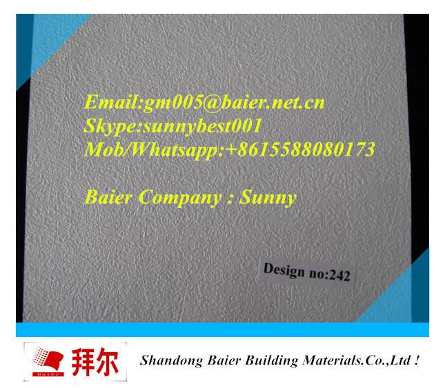 High Quality PVC Gypsum Ceiling Tiles 595mm X 595mm/600mm X 600mm/603mmx603mm)