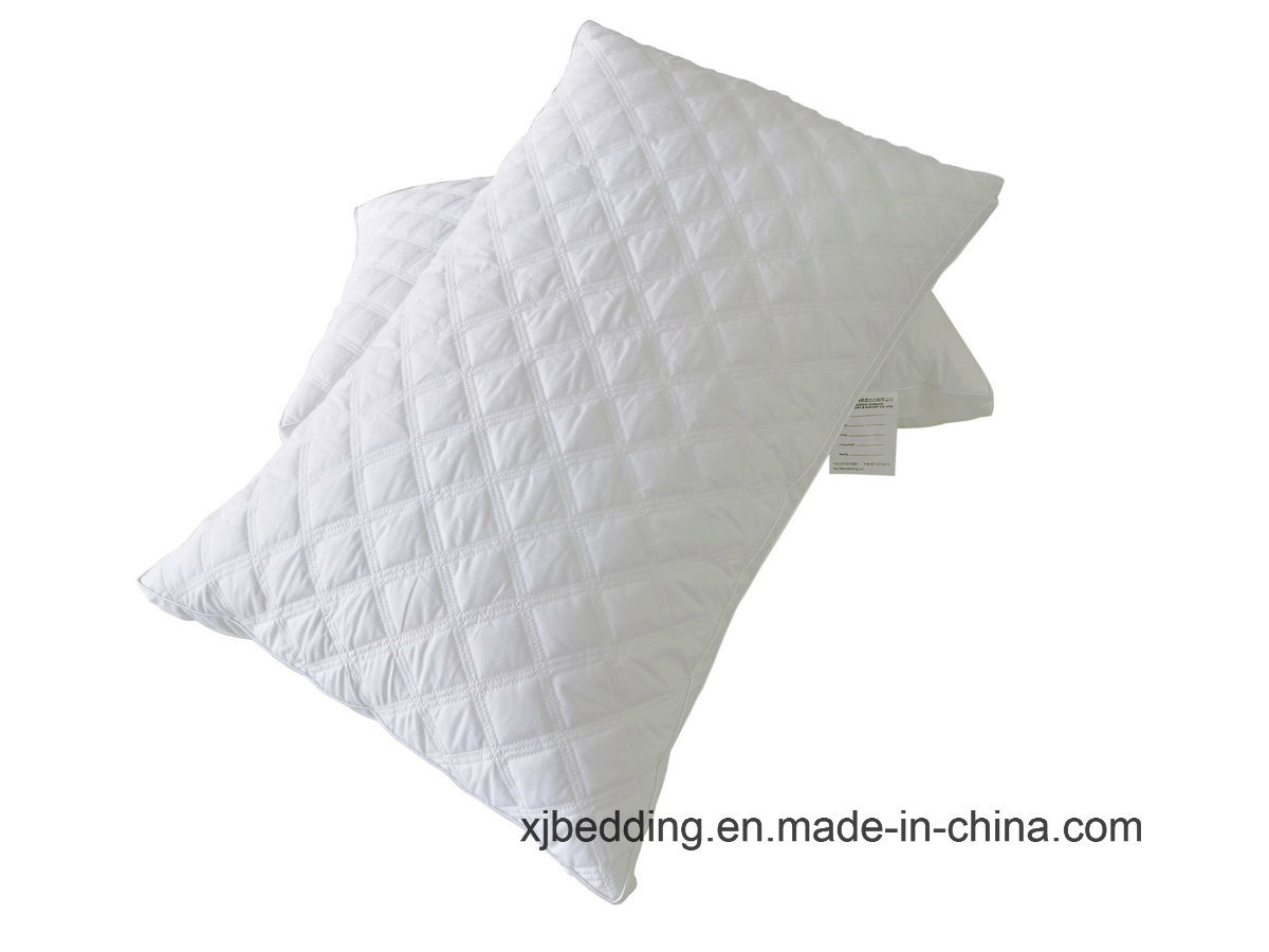 100% Cotton Fabric Embroidered Pillow