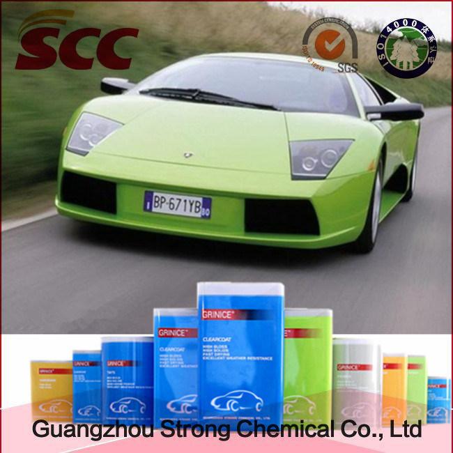 Superior Adhesion Green 2k Topcoat Car Paint