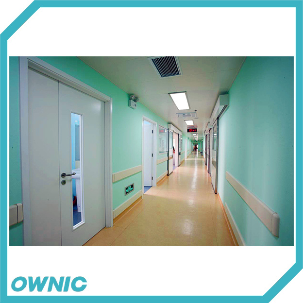Manual Swing Door One and Half Open for Hospital Application