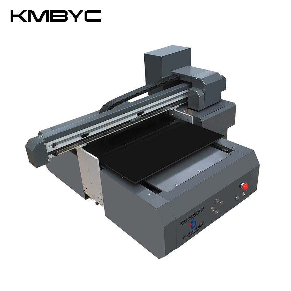 Kmbyc A2 Plus Size 8 Colors 6060 UV Flatbed Printer