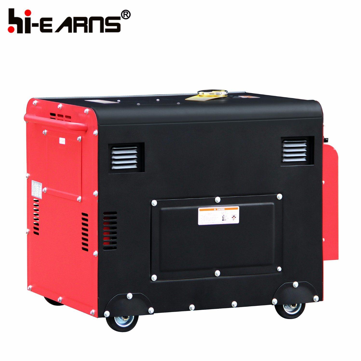 China 5 5kw Portable Silent Diesel Engine Power Generator Price