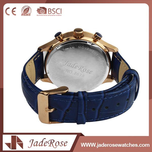 Custom Fashion Vintage Unisex Leather Quartz Watches