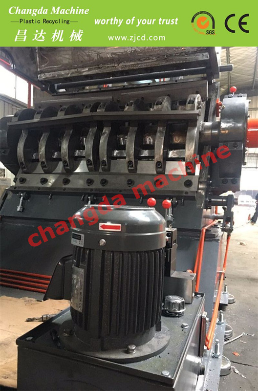 V Shaft Plastic Crusher