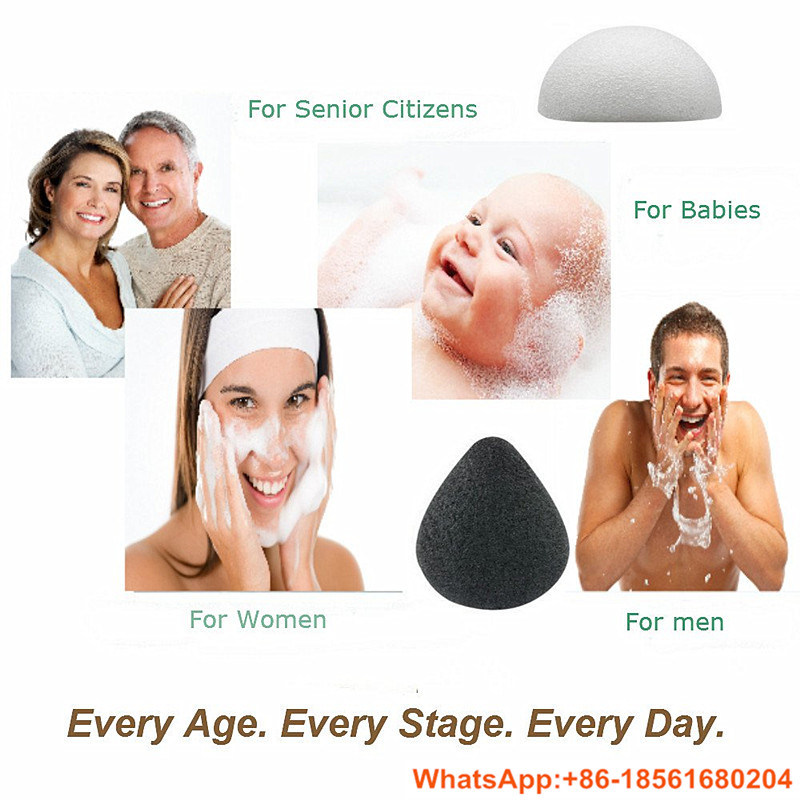 100% Pure Vegetable Konjac Sponge