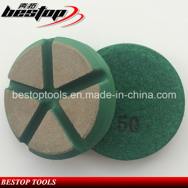 3 Inch Dry Ceramic Polishing Pad for Concrete