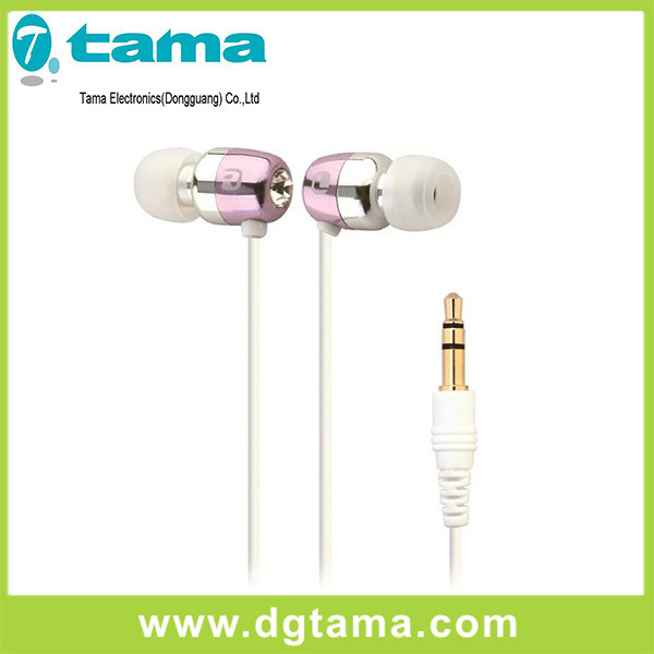 Earphone 3.5mm in-Ear Stereo Earbuds Earphone Without Mic