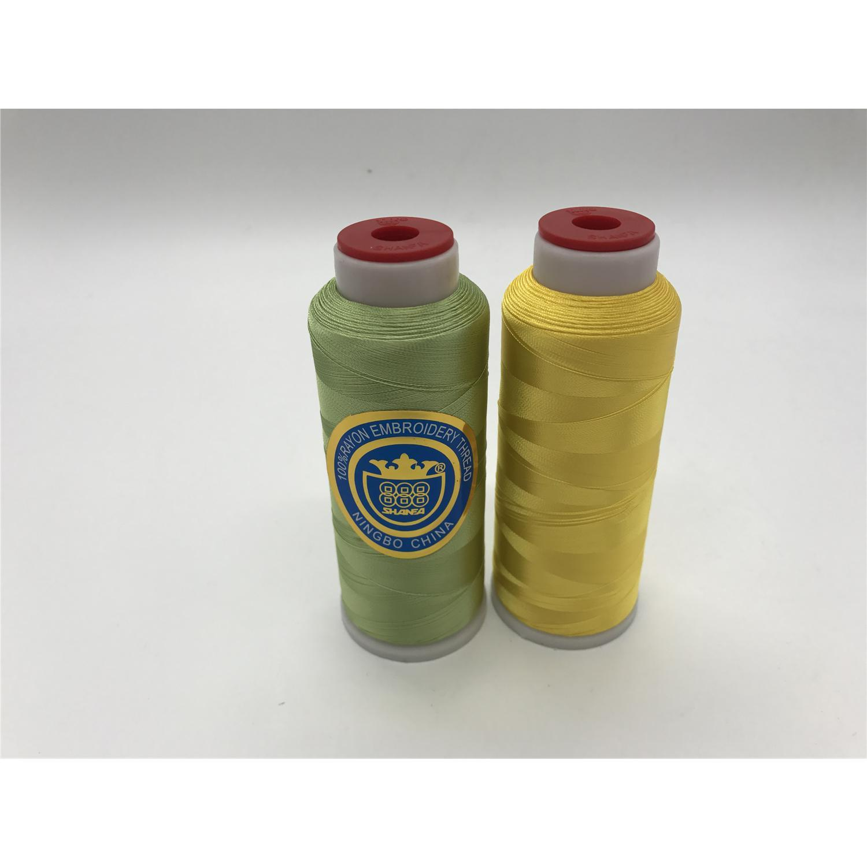 Shanfa 100% Rayon Embroidery Thread