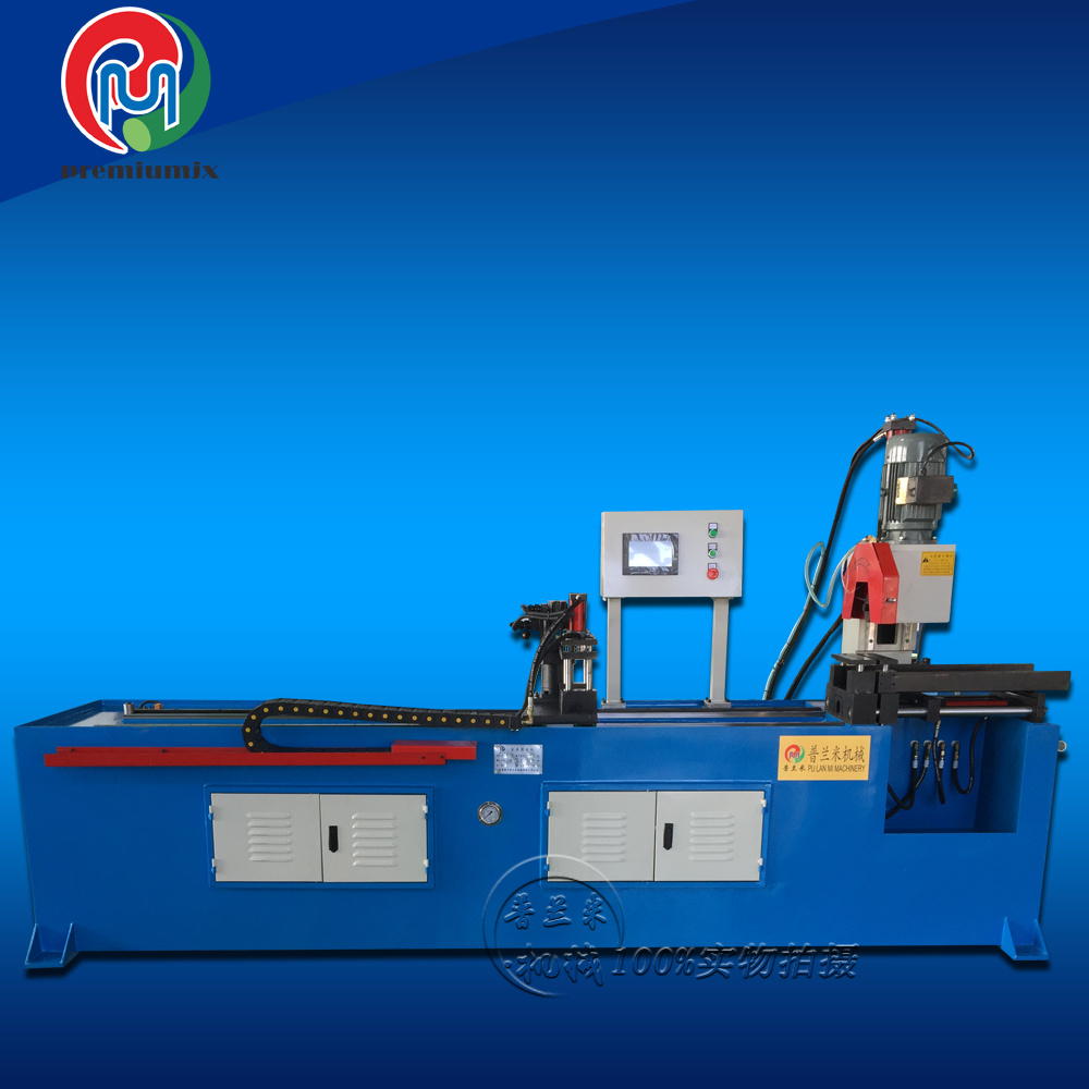 High Speed Cutting Plm-Qg355CNC Semi-Automatic Pipe Cutting Machine
