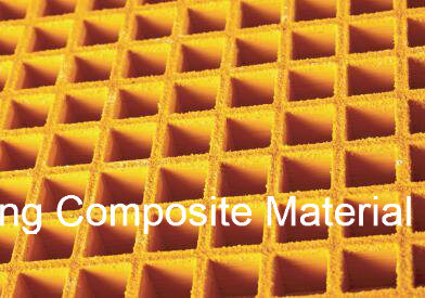 Fiberglass Grating/FRP or GRP Molded Grating, Square Mesh,