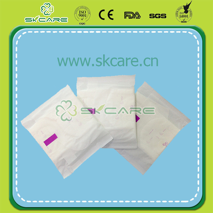 Premium Disposable Sanitary Napkin with Negative Unions