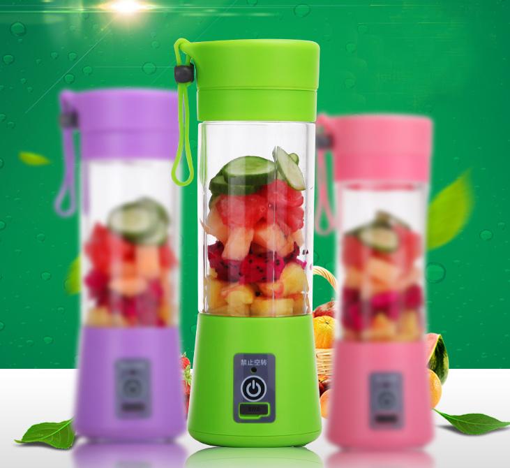 Portable Rechargeable Fruit Mixer