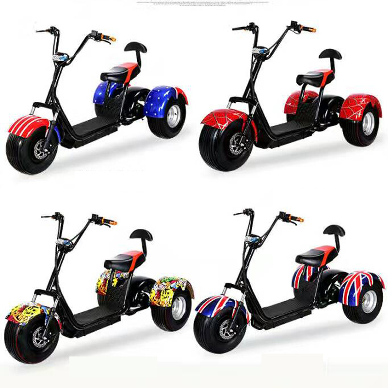 Citycoco Harley Scooter with Bluetooth