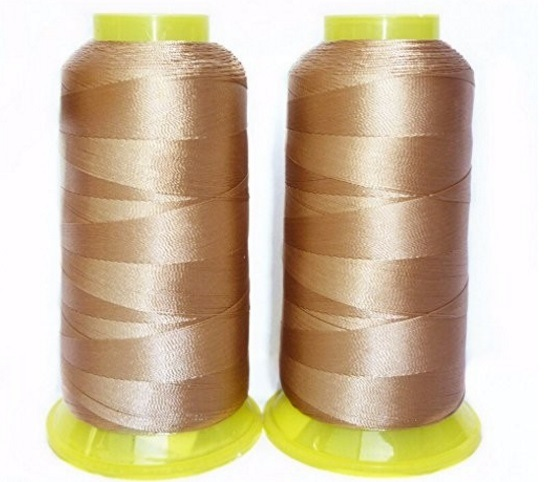 210d/3 High Tenacity Polyester Filament Sewing Yarn for Leather Bags
