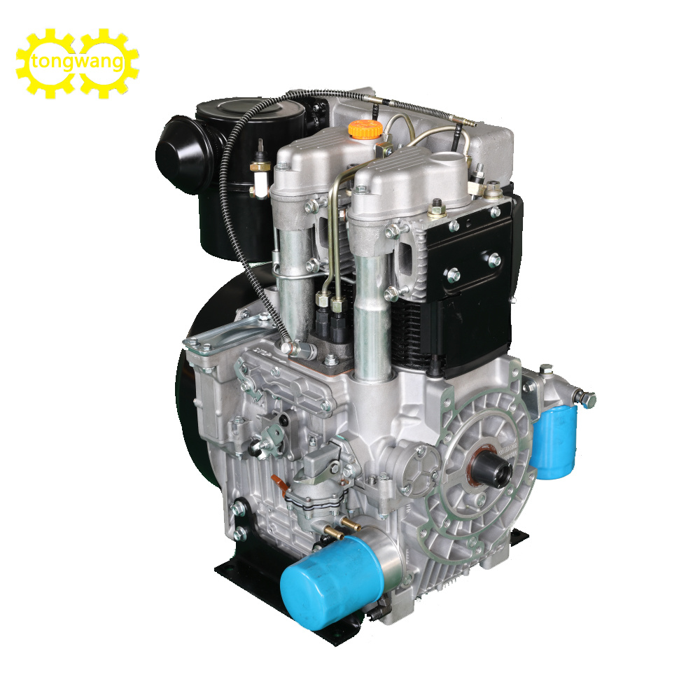 Twd292f Naturally Aspirated Dual 2 Cylinder Diesel Engine for Water Pump Genset Generator with 15kw/16kw 3000/3600rpm