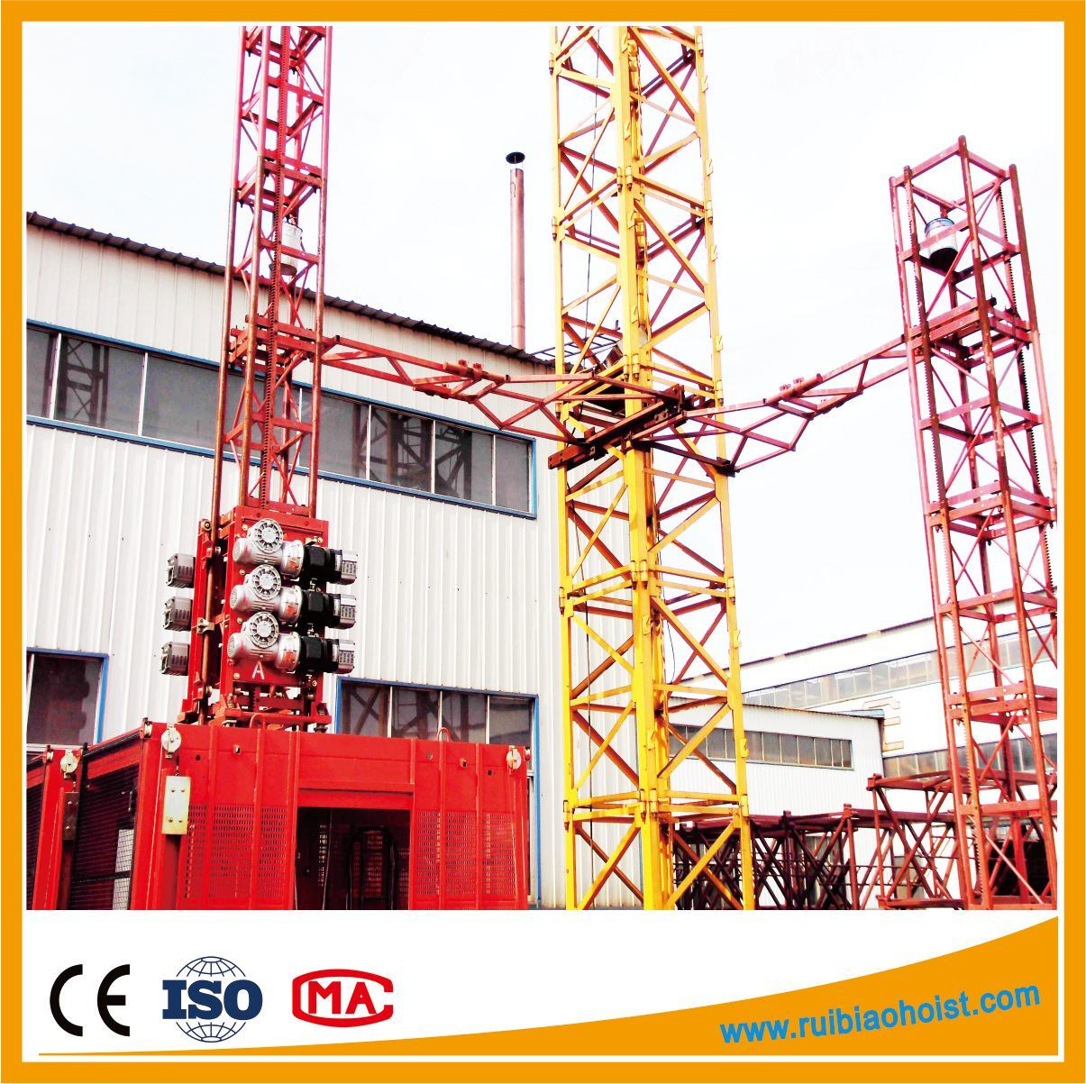 Ce Sc200 Construction Hoist Building Hoist Construction Machinery