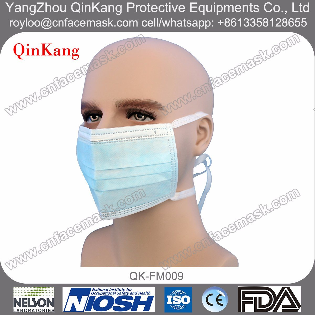 Medical Disposable Face Surgical Mask for Multi Specification Hospital Equipment